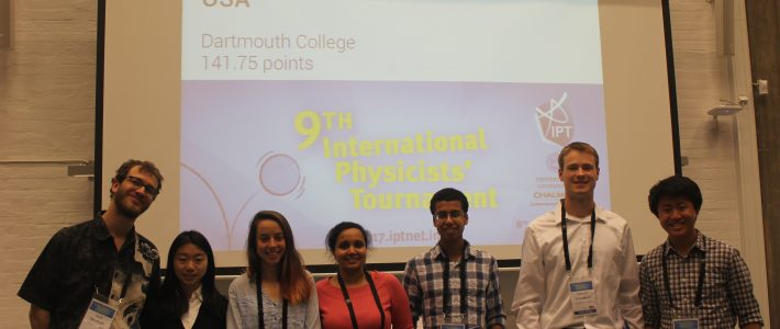 USA in the International Physicists' Tournament!